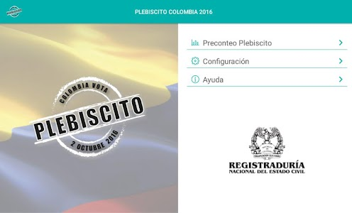 Plebiscito Colombia 2016 screenshot 5