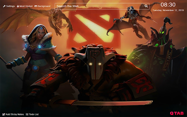 Dota 2 Wallpapers Dota 2 New Tab HD