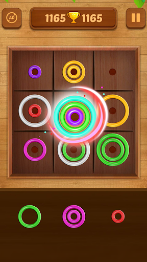 Color Rings - Colorful Puzzle Game 2.8 screenshots 3