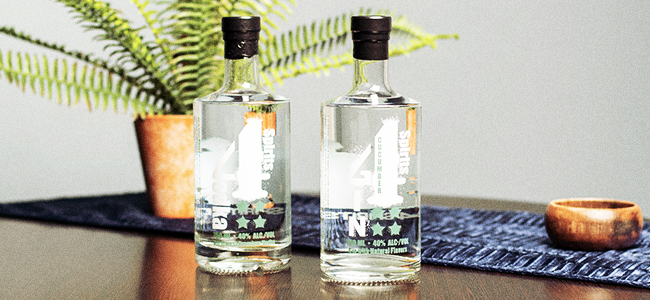 Vodka and Gin From The Veteran Owned Business