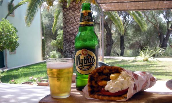 Photo: Pita - greek snack