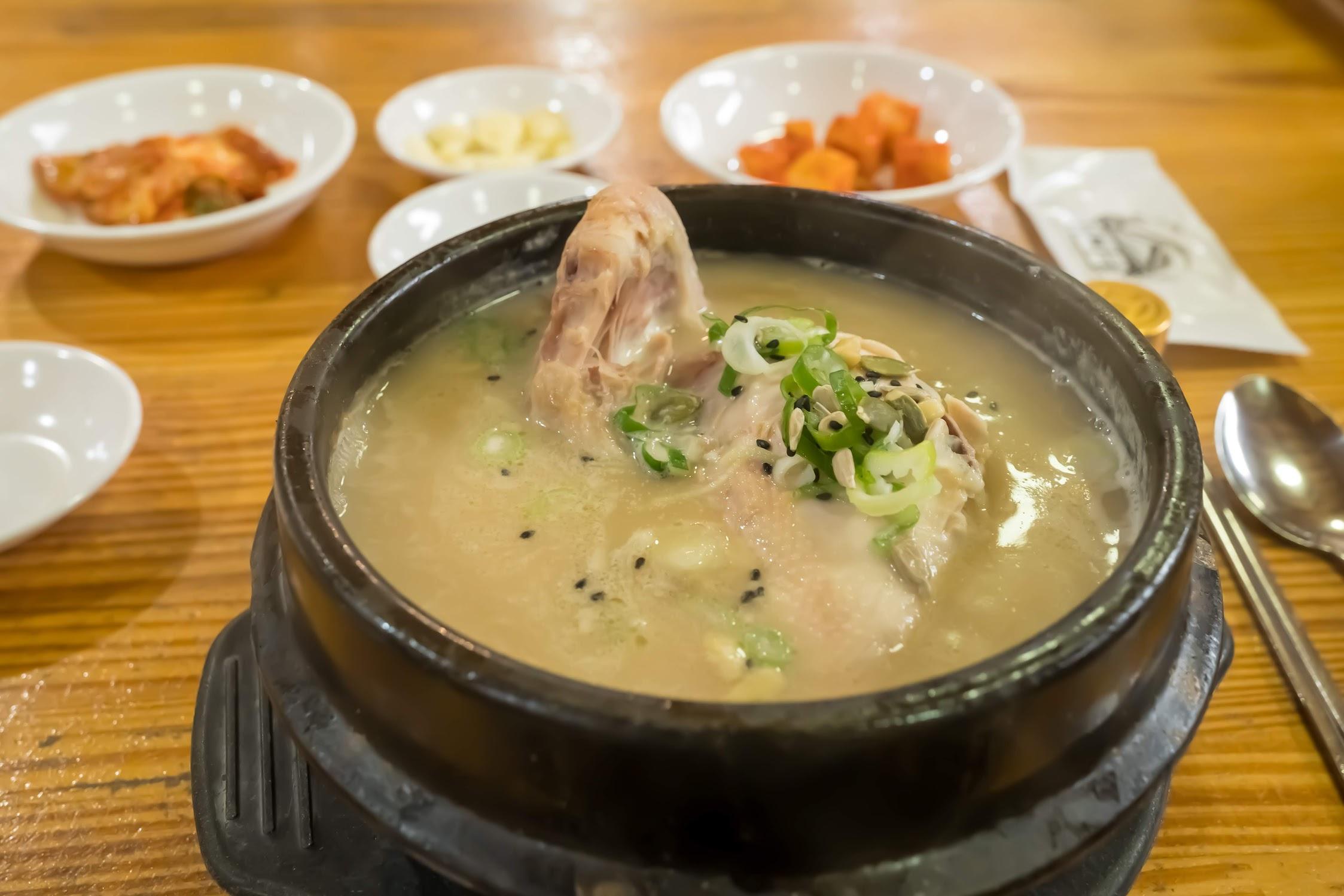 ソウル 土俗村参鶏湯2