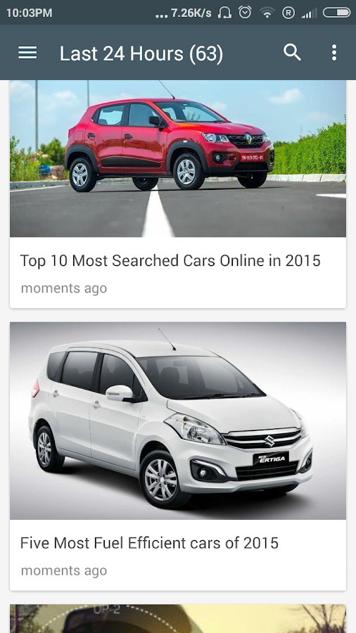 Car news and reviews - India- screenshot