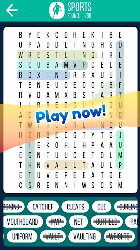Word Search 2019: Word searching game for free screenshot 3