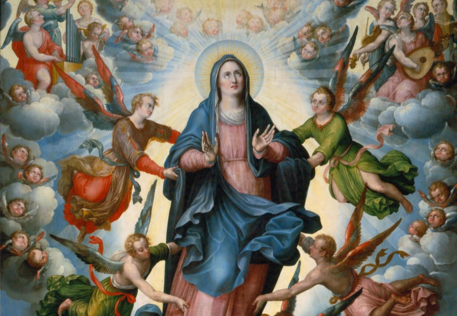 HUẤN TỪ KINH TRUYỀN TIN CỦA ĐỨC THÁNH CHA: Lễ Đức Mẹ Hồn Xác Lên Trời (TOÀN VĂN)
