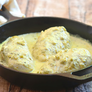 One-Pan Creamy Salsa Verde Chicken