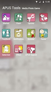 Snoopy theme for APUS- screenshot thumbnail