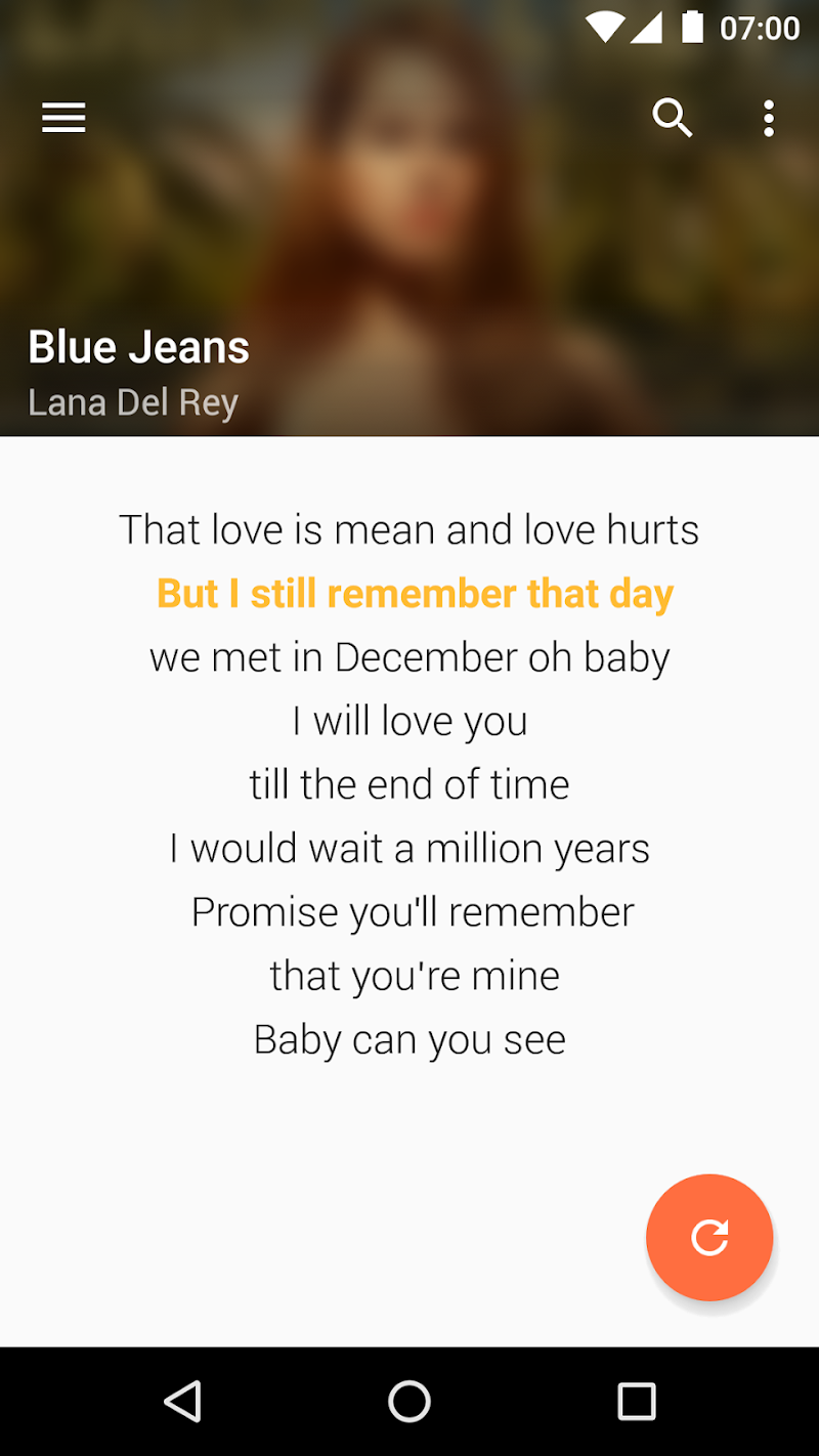 QuickLyric - Instant Lyrics Screenshot 7