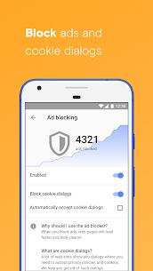Opera with free VPN 3