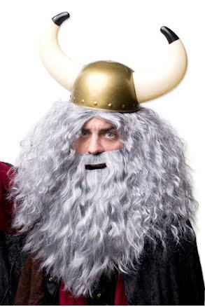 Vikingahjälm, stora horn