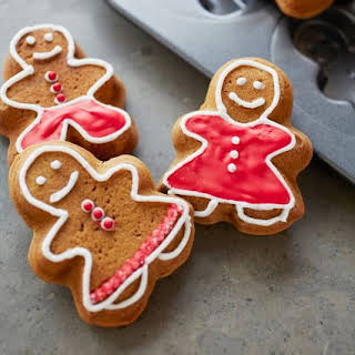 Gingerbread Press Sugar Cookies.