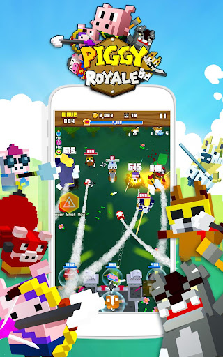 Piggy Royale : Wolf Wars screenshot 1