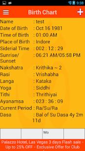 Kundali-BirthChart - náhled