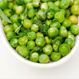 Minted Fresh Peas