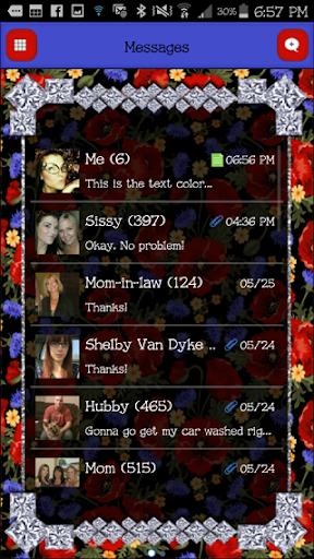 GO SMS - DivineDiamonds6