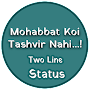Two Line Status Hindi APK icon