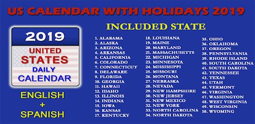 New York State 2019 February Calendars US Calendar 2019   Google Play'də Tətbiqlər