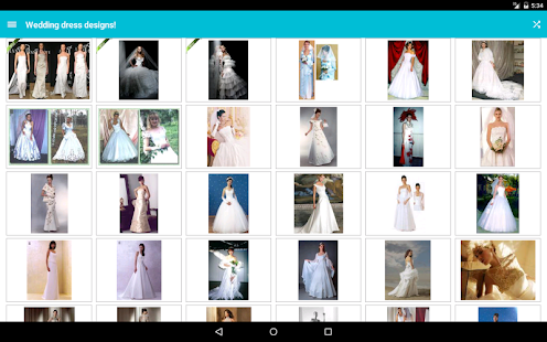 Wedding dress designs android apps on google play screenshot thumbnail wedding dress designs junglespirit Image collections