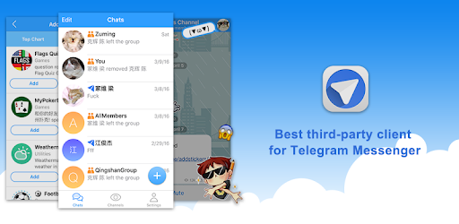 Telepal - Telegram Unofficial 1 1 apk download for Android • com