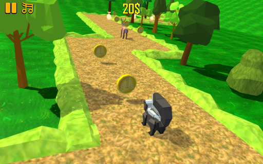 ZigZag Scream: Blocky Animals  screenshots 2