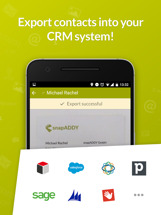 snapADDY Business Card Scanner- screenshot