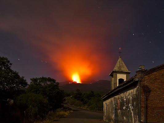 Etna, eruzione d'agosto. di Pino1963