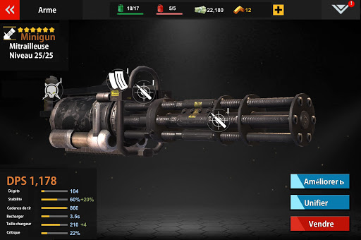 Code Triche Zombie : DEAD WARFARE mod apk screenshots 3
