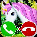 unicorn call simulation game APK