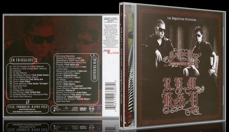 RKM & Ken-Y - MasterPiece (Commemorative Edition) (2007) [MP3 @320 Kbps]