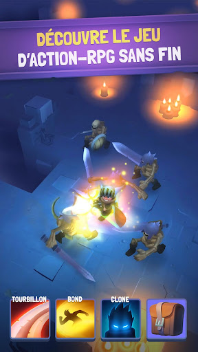 Nonstop Knight - Idle RPG  captures d'u00e9cran 1