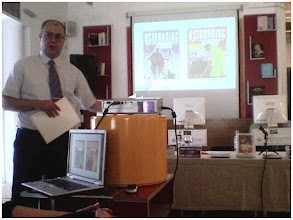 Photo: Lecture on Robert A. Heinlein (July 7 2007)