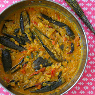 Indian Aubergine Curry Recipes.
