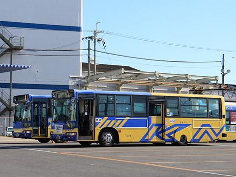 近鉄バス 阪奈生駒線 6123 稲田車庫にて その3