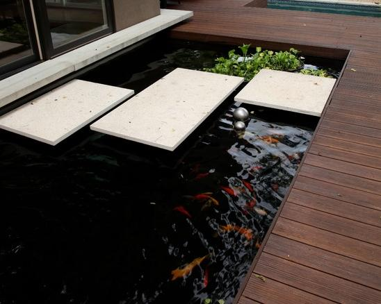 Fish pond ideas android apps on google play for Koi pond in house