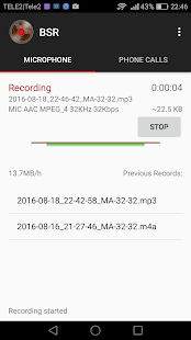 Background Sound Recorder Screenshot