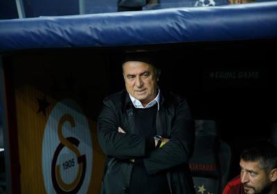 Fatih Terim, le coach de Galatasaray était déçu du nul concédé face au Club de Bruges