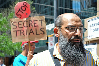 Photo: Stop secret trials!