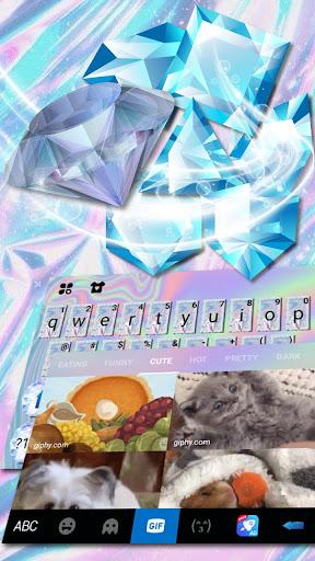 Shining Diamond Keyboard Theme hack tool