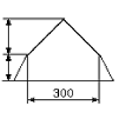Calculation of mansard roof