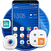 S7 launcher for GALAXY phone