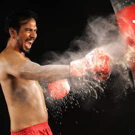 The Fighter by Yanti Hadiwijono - Sports & Fitness Boxing