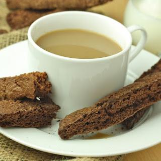 My Favorite Healthy Chocolate Biscotti (Paleo/Low Carb/Vegan/Gluten Free)