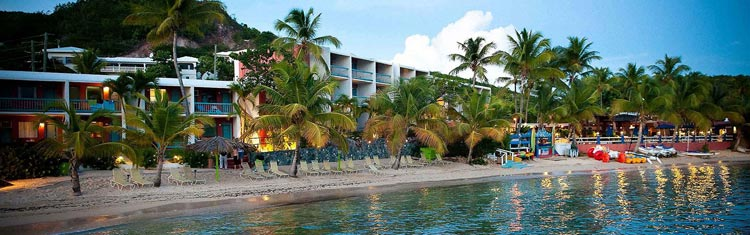 The Bolongo Bay Beach Resort is offering a variety of discounted rate packages through April 2017.