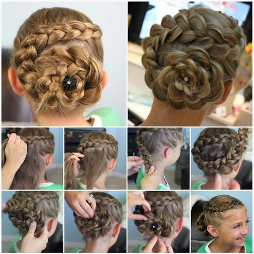 Hairstyles step by step 2018  screenshots 10