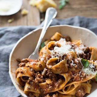 Italian Sausage & Beef Ragu