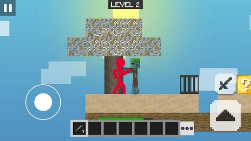 Stickman vs Multicraft: Lucky Block Craft 1.0.0 screenshots 1