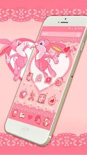 Bunny Love Couple Theme - náhled