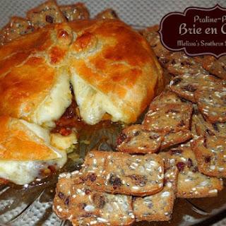 Praline Pecan Brie en Croute.