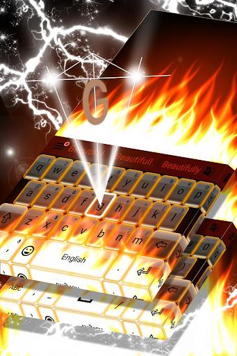Burning Live Fire Keyboard  screenshots 4