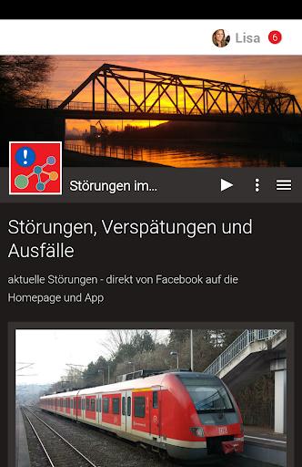 Störungen im Bahnverkehr screenshot 1